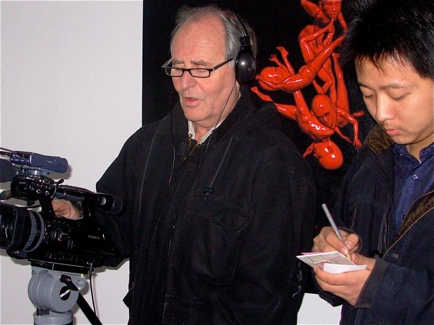 Filming gallery w Jay